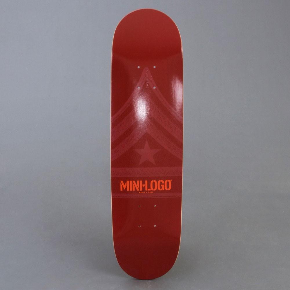 "Mini Logo Maroon 7.625"" skateboard bräda"