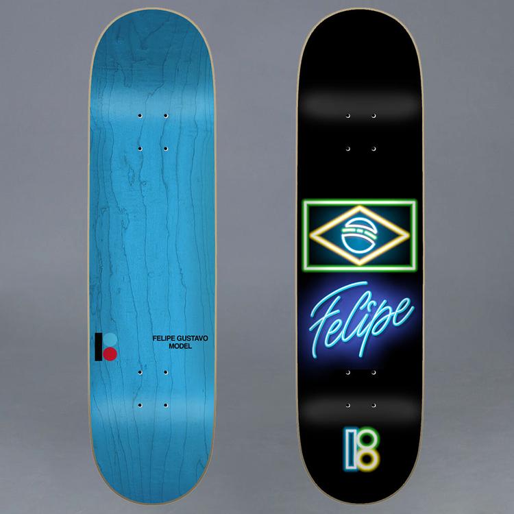Plan B Neon Felipe 7.75 Skateboard Deck