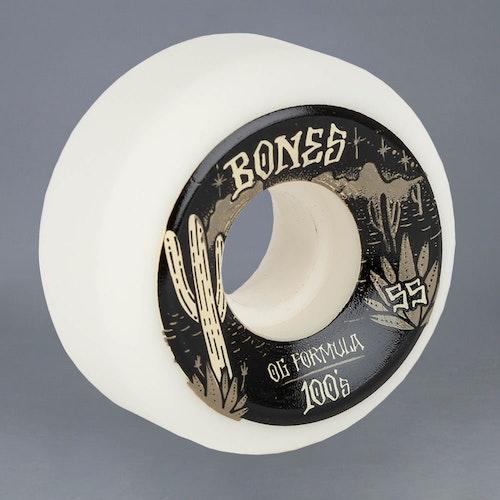 Bones West v5 100A 55mm Skateboard hjul