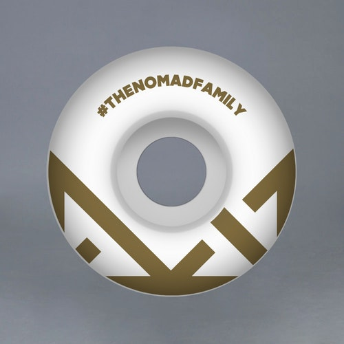 "Nomad ""CROWN GOLD"" 54mm Skateboard Hjul"
