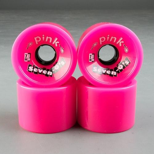Pink Seven-o´s 70mm 78a Hjul