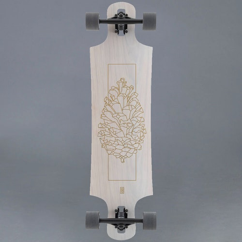 Landyachtz Drop Hammer White Pinecone Komplett Longboard