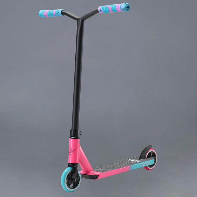 Blunt One S3 Pink/Teal Komplett Kickbike