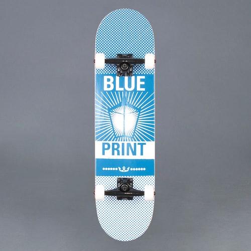 "Blueprint Pachinko Blue/White 8.0"" Komplett Skateboard"
