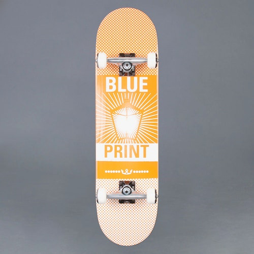 "Blueprint Pachinko Orange 8.25"" Komplett Skateboard"