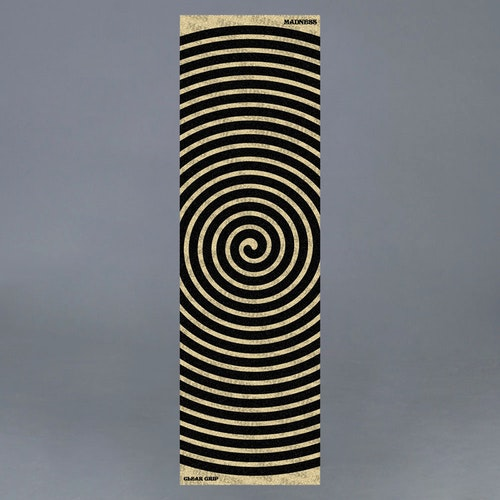 "Madness Swirl 10"" Clear Griptape"