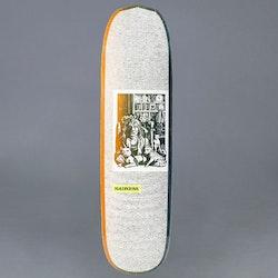 Madness Desiree Orange / Green 8.375 Skateboard Deck