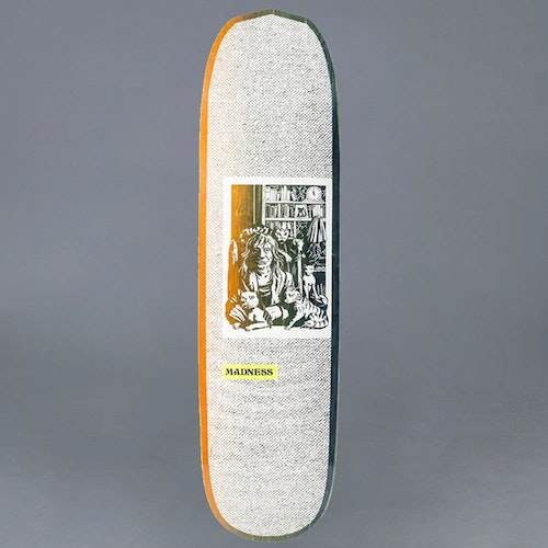 Madness Desiree Orange / Green 8.375 Skateboard Deck
