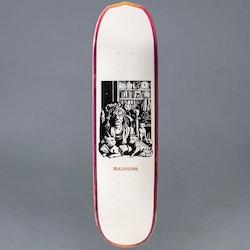 "Madness Desiree Purple / Orange 8.375"" Skateboard Deck"
