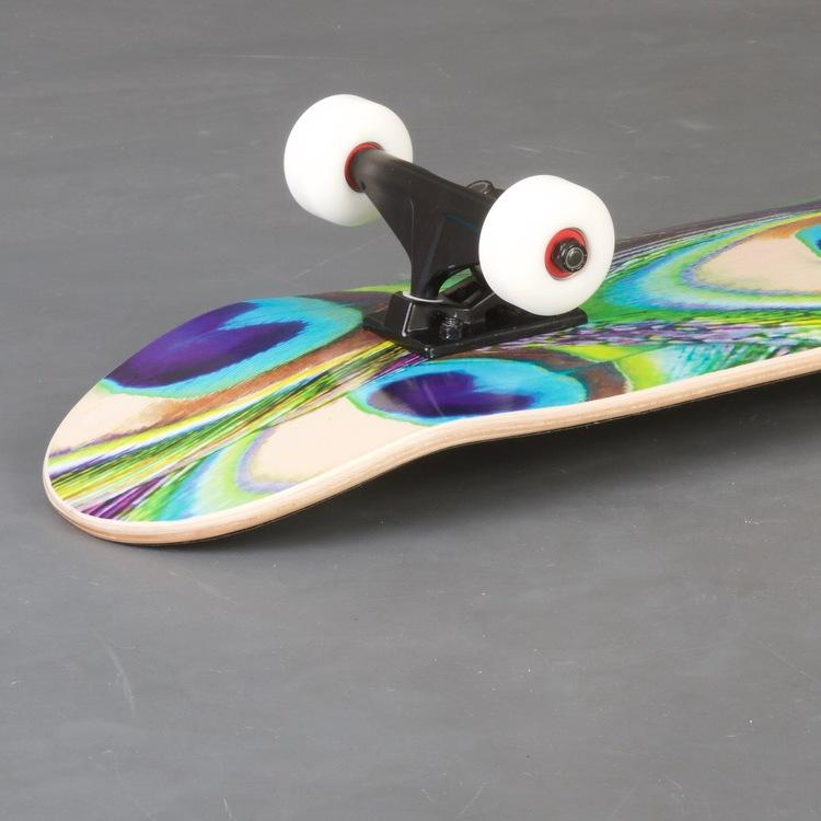 "Mini Logo Peacock Feather 7.5"" Skateboard Komplett"