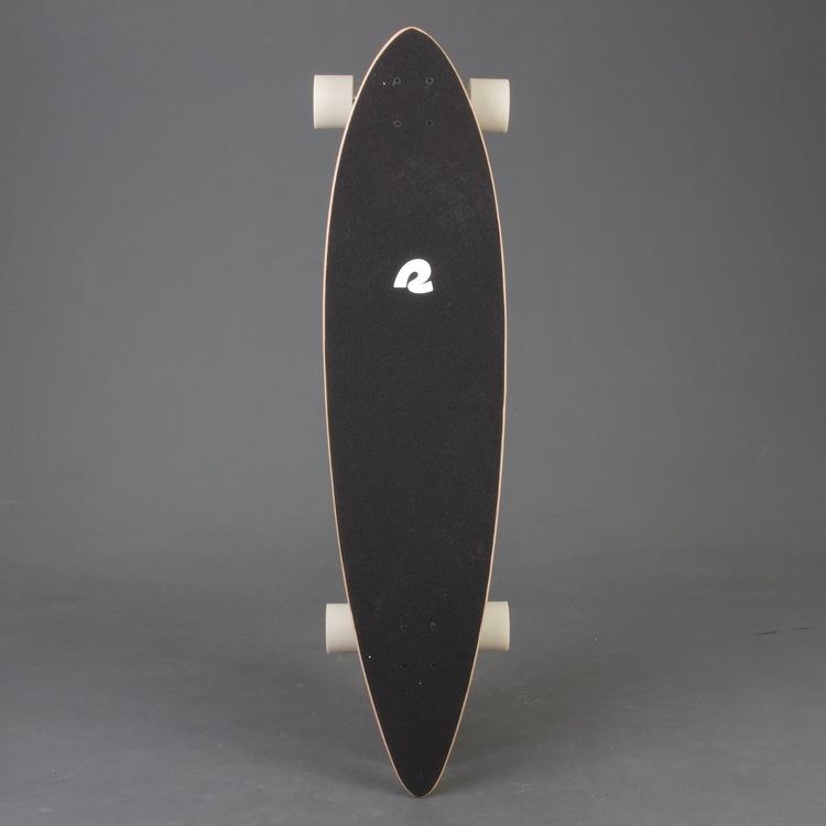 Retro S Pintail Mojave Stripes Longboard Komplett