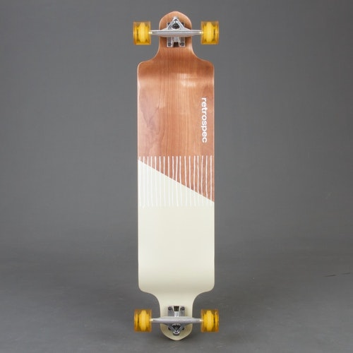 Retro S Drop Mojave Stripes Longboard Komplett