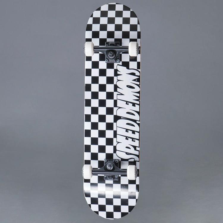 Speed Demons Checkers 8.0 Komplett Skateboard