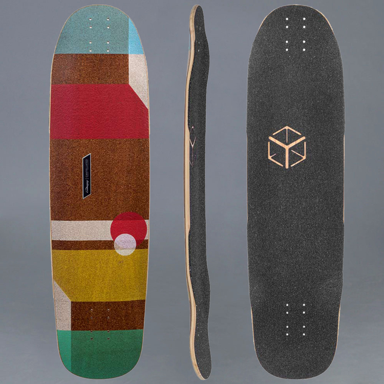 Loaded Tesseract Cantellated Longboard Deck