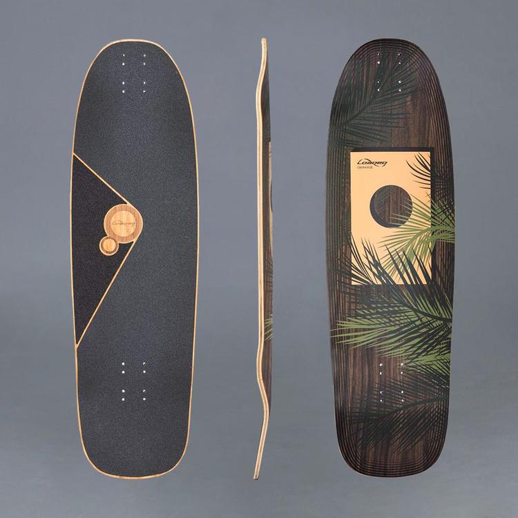 Loaded Omakase Palm Longboard Deck
