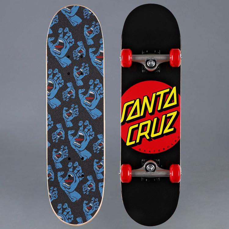 Santa Cruz Classic Dot Micro 7.25 Komplett Skateboard