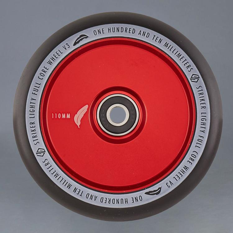 Striker Lighty Full Core V3 Red 110mm hjul 2-Pack
