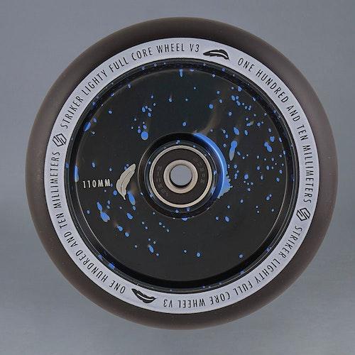 Striker Lighty Full Core V3 Blue Splash 110mm hjul 2-Pack
