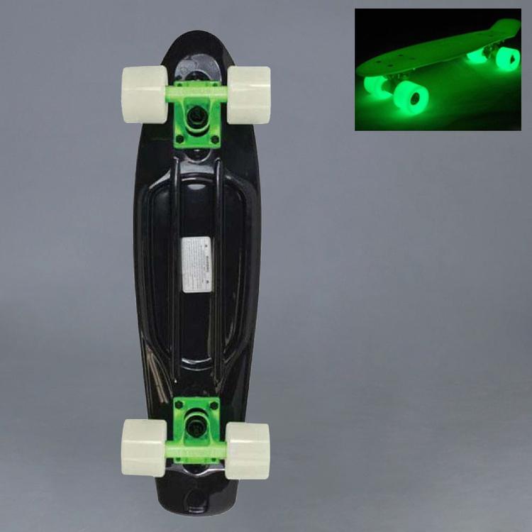 """Stereo Black/Glow Hjul Cruiser 22"""""""