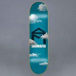 Sk8Mafia House Logo Clouds 8.0 Skateboard Deck