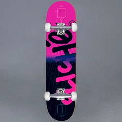 Cliche Lux Handwritten Pink 8.125 Komplett Skateboard