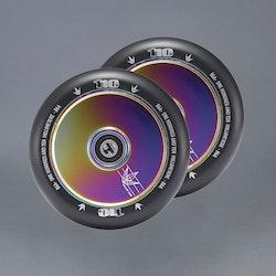 Blunt Hollow Oilslick 110mm 2-pack Kickbike Hjul