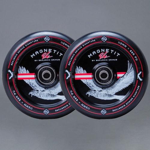 Striker Bgseakk Magnetit Sparkcykel Hjul 2-Pack 110mm