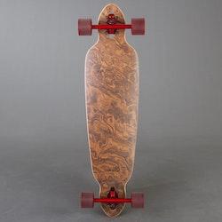 Urskog Stubbe Walnut Burl 37,4 Komplett