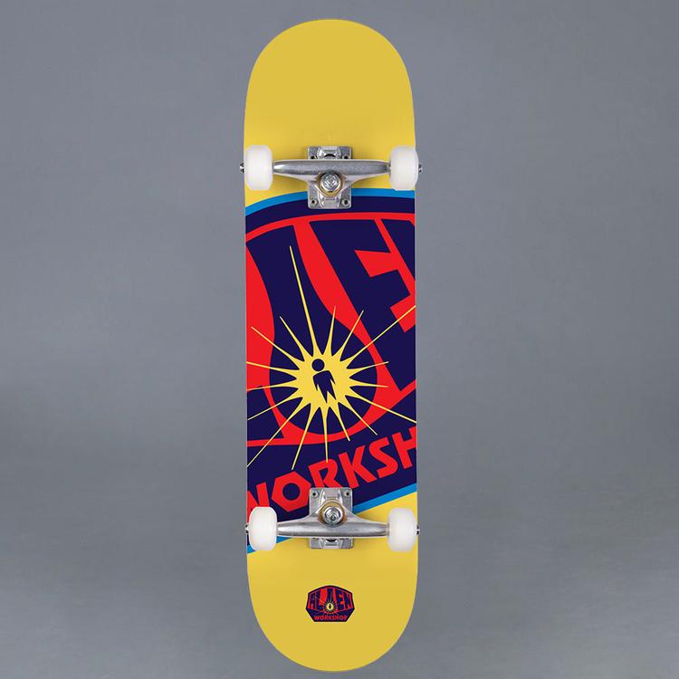 Alien Workshop OG Logo Yellow 7.75 Komplett Skateboard