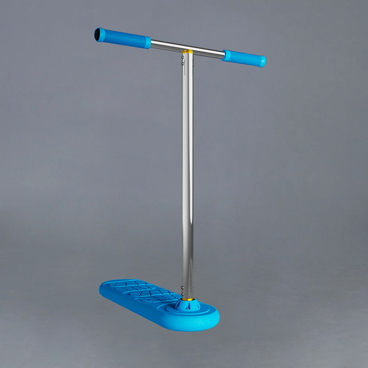 Indo Pro Blue Trampoline Scooter