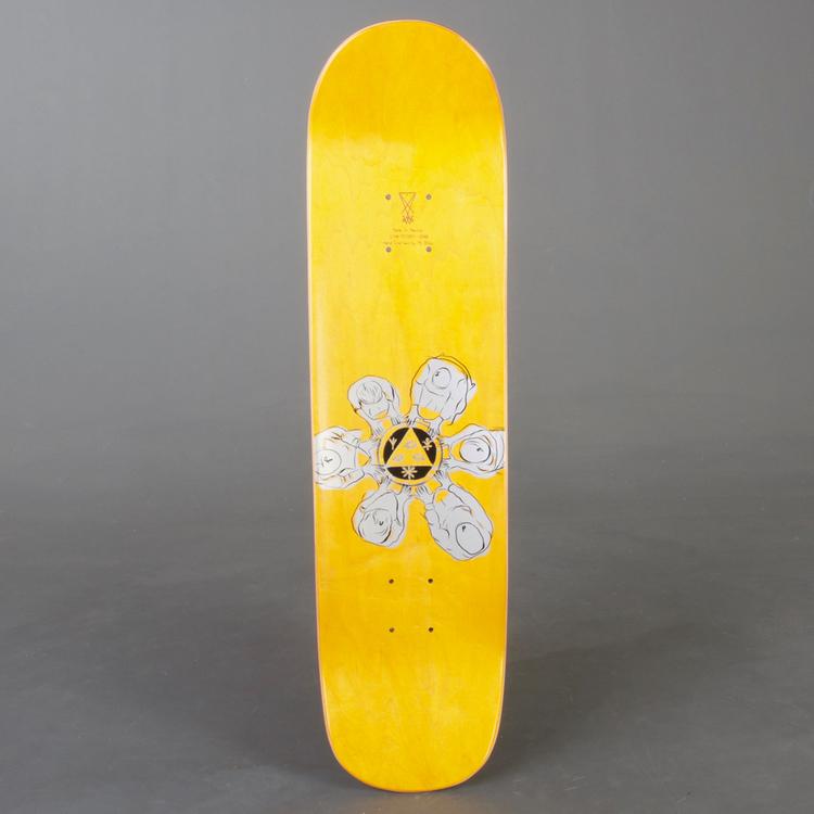 "Welcome Hooter Shooter Yell Skateboard Deck 8"""