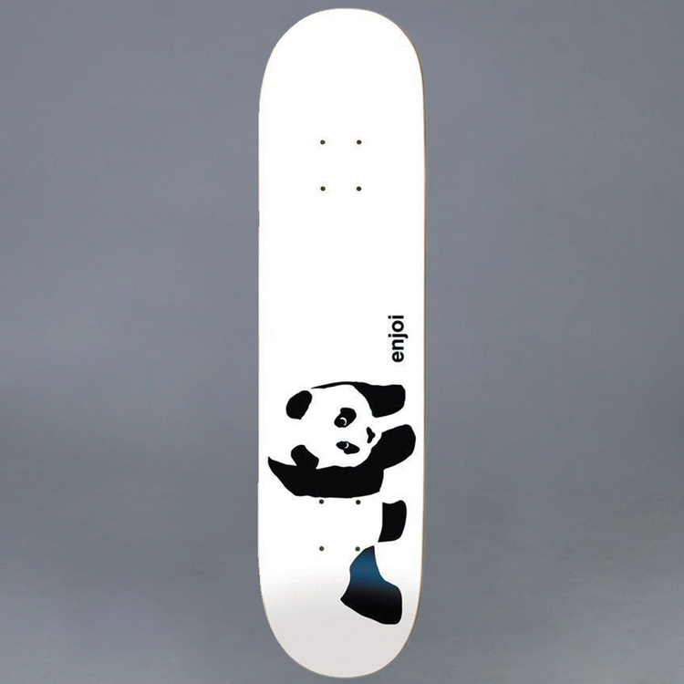 """Enjoi Whitey Panda Skateboard Deck 7.75"""""""