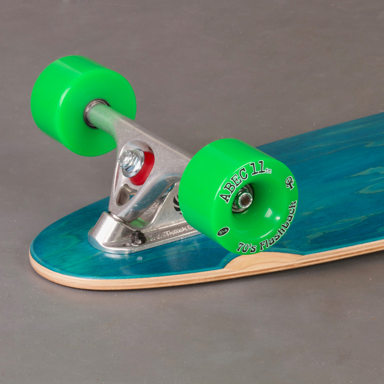 "Actionbolaget Lagoon Kicktail 38"" Custom Komplett Longboard"