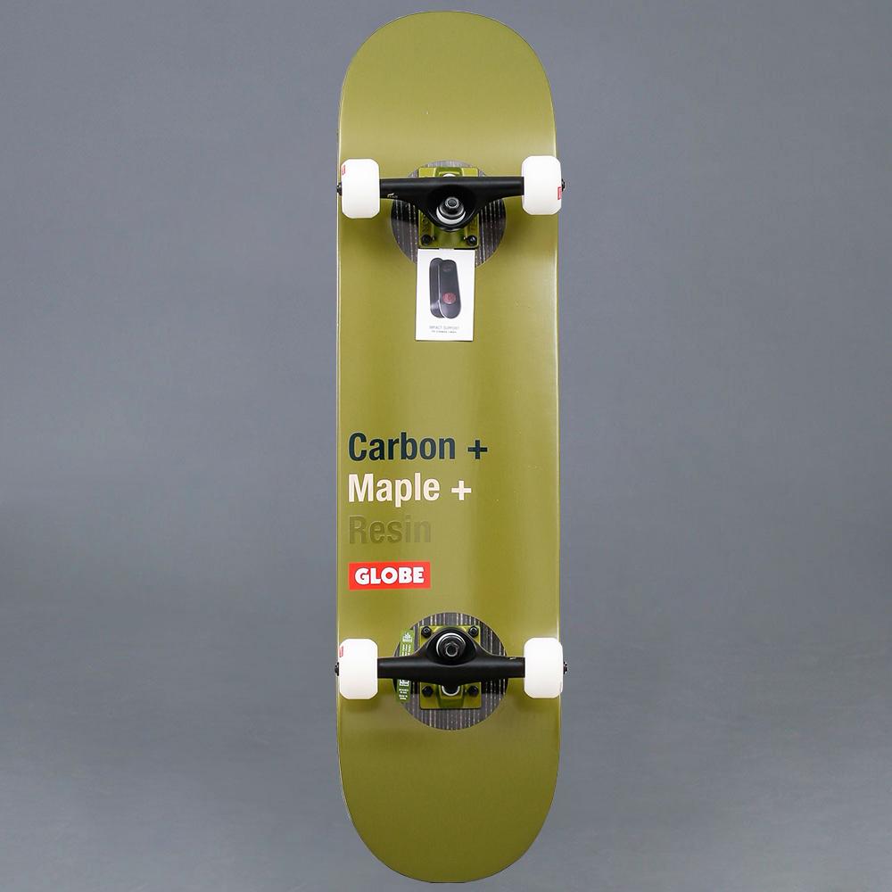 """Globe Impact Olive Komplett Skateboard 8.0"""""""
