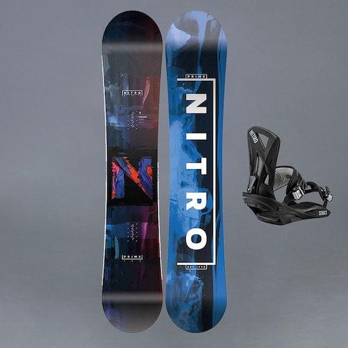 Nitro Prime Blue 163 Snowboard paket