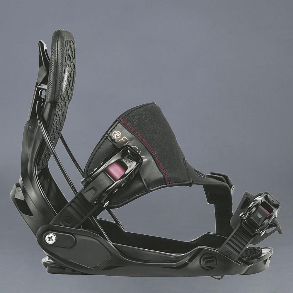 Flow Minx Black W snowboard bindning