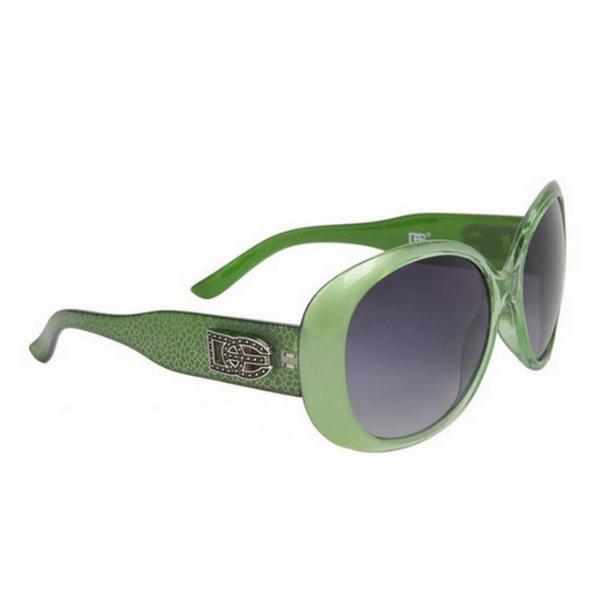 Gröna DE designer solglasögon