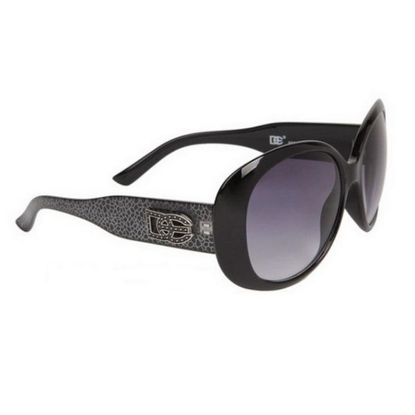 Svarta DE designer solglasögon