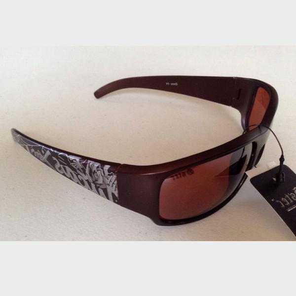 Bruna silver graffiti Gangster solglasögon