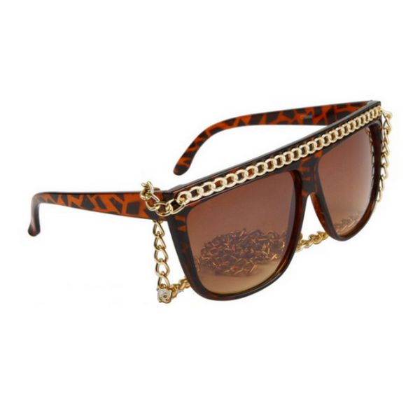 Sköldpadda Lady Gaga inspirerade solglasögon