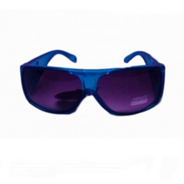 Blåa over glasögon solglasörgon