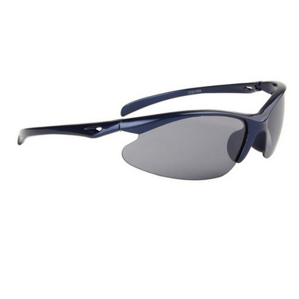 Blåa cykling sport solglasögon
