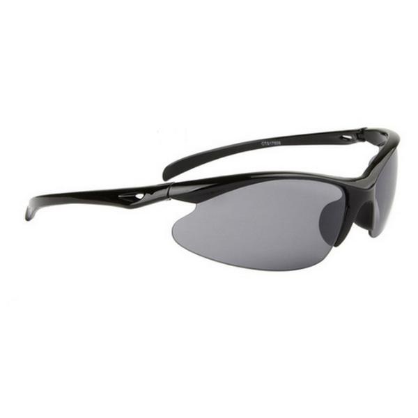 Svarta cykling sport solglasögon
