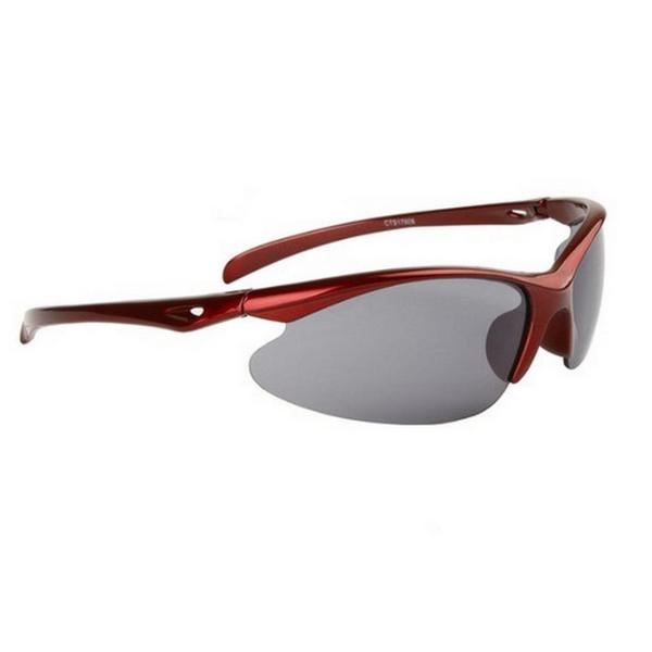 Röda svarta cykling sport solglasögon