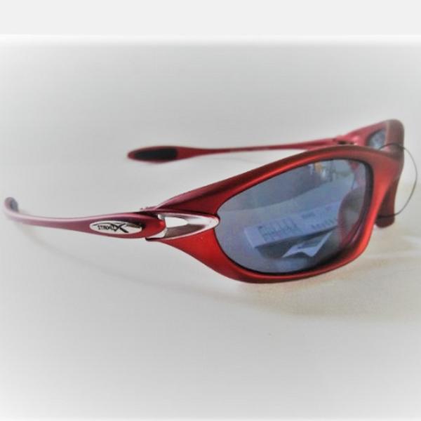 Vinröda Xsportz Solglasögon med logo
