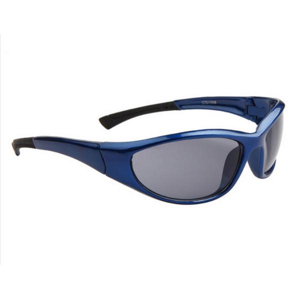Blåa Svarta Lens Sport stil solglasögon