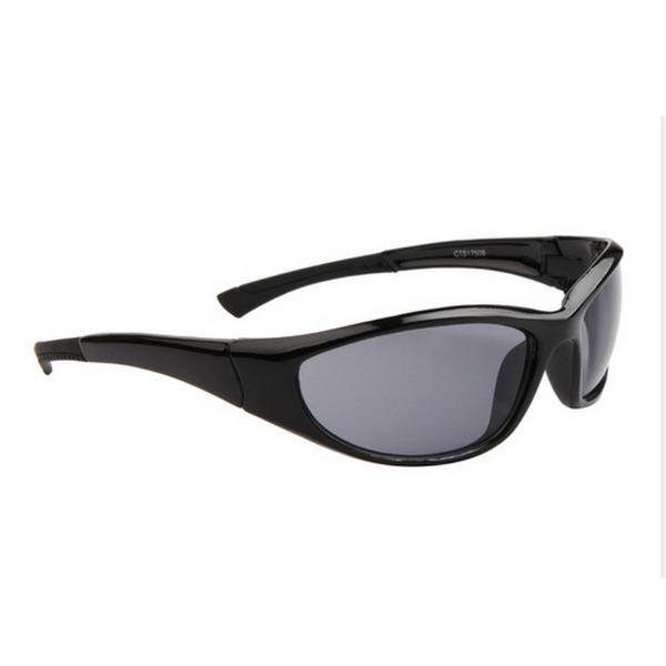 Svarta Svarta Lens Sport stil solglasögon