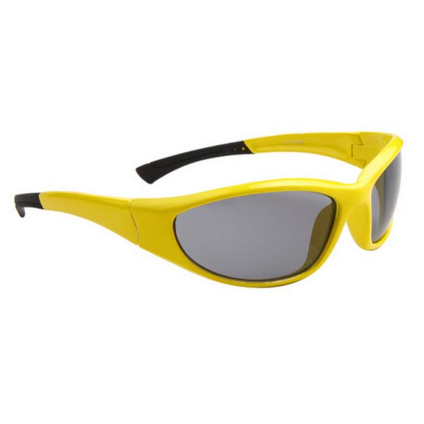 Gula Svarta Lens Sport stil solglasögon