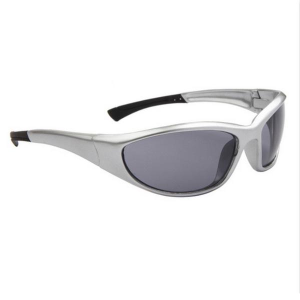 Silver Svarta Lens Sport stil solglasögon