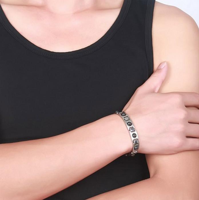 Hematit steel Armband med Magnet